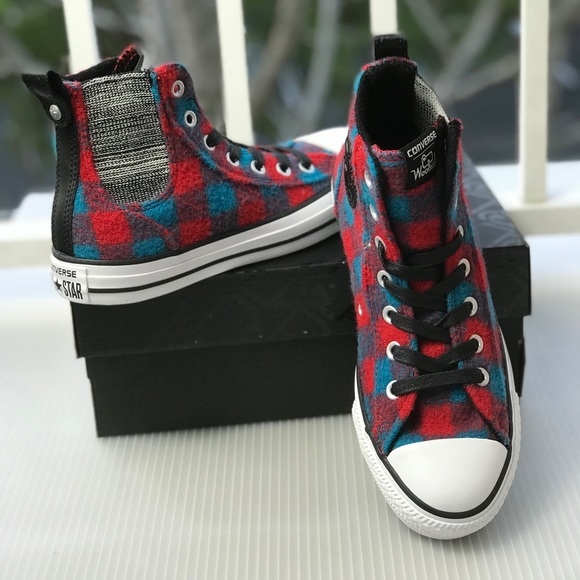 NWT Converse Woolrich Chelsee Casino W AUTHENTIC c96702a62